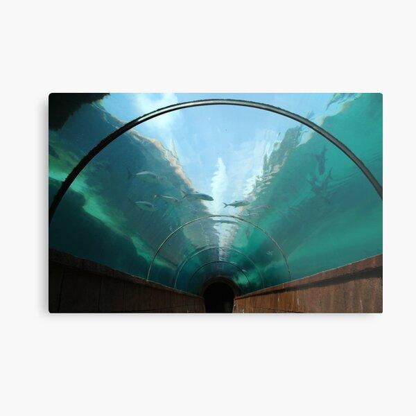 Atlantis Tunnel Metal Print