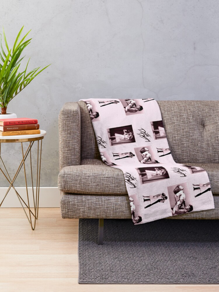 Alternate view of Time of my life  Throw Blanket