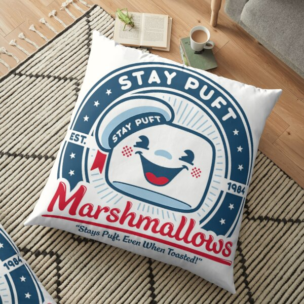Stay Puft Marshmallows T-Shirt Floor Pillow
