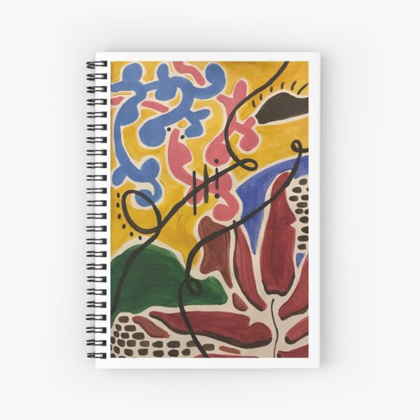 Morning Greetings Spiral Notebook