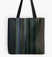 Moviebarcode: Watchmen (2009) Tote Bag
