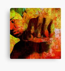 """Cassius """"Ali"""" Canvas Print"""
