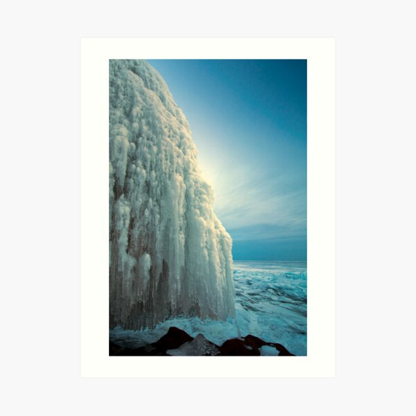 Last Light - Lake Superior Art Print