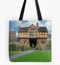 Stokesay Castle Entrance Tote Bag