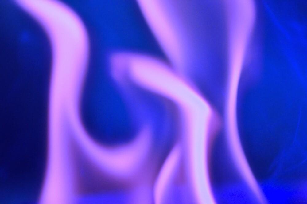 Purple Ghost Fire by Tapirart