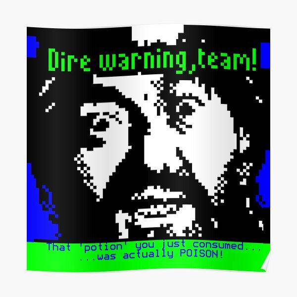 Dire Warning, Team! – Treguard (Knightmare/Ceefax) Poster