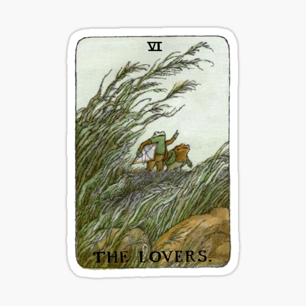 Frog and Toad Tarot Sticker