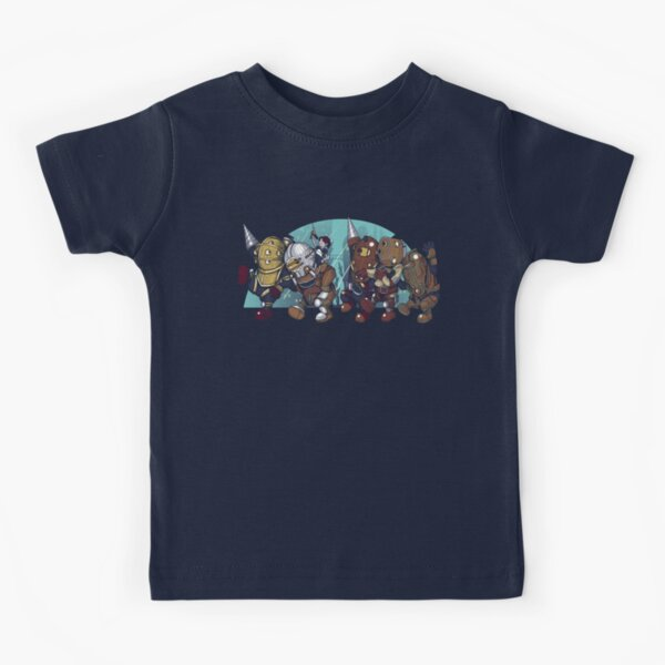 Where the Big Daddies are Kids T-Shirt