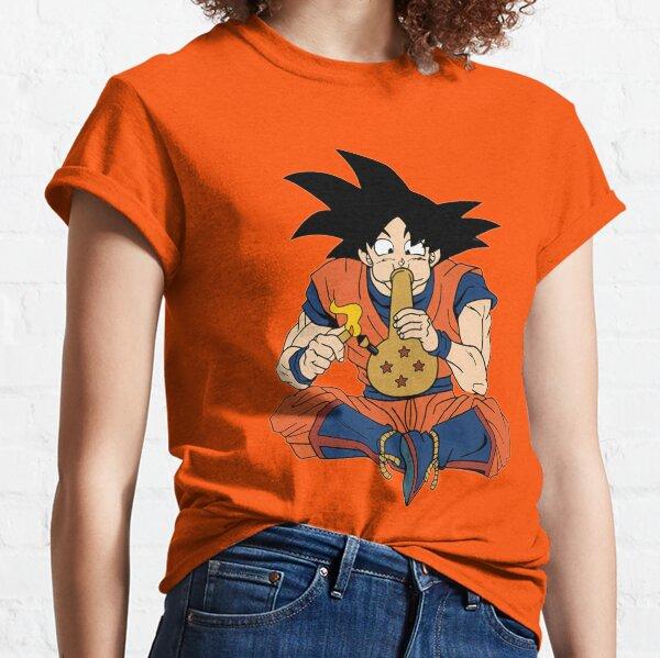 DBZ Koku fumant Dragon Ball Z T-shirt classique
