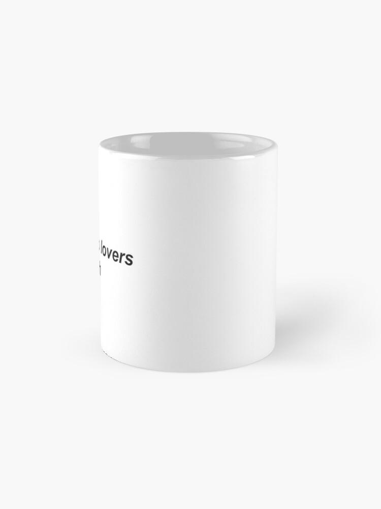 Alternate view of enemies to lovers trash Mug