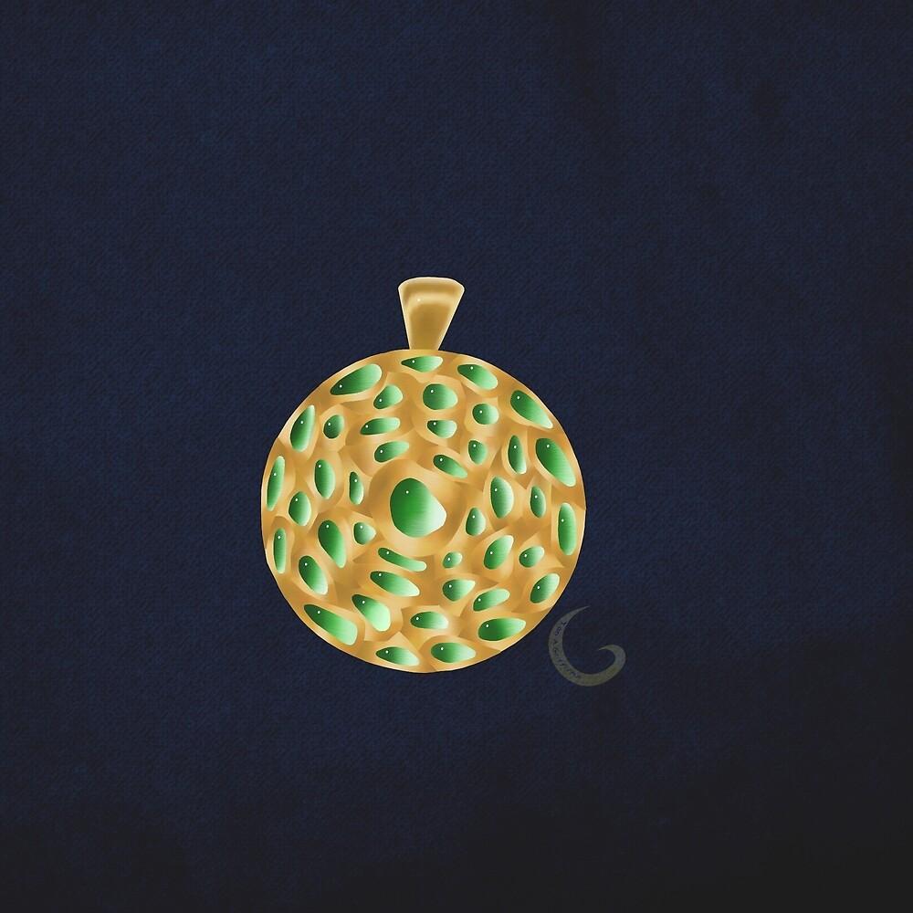 The Emerald Abundance Pendant  by thebigG2005