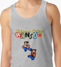River City Ransom Shirt (Logo w/ 8-Bit Characters) Tank Top