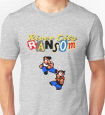 River City Ransom Shirt (Logo w/ 8-Bit Characters) Unisex T-Shirt