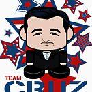 Team Cruz Politico'bot Toy Robot by Carbon-Fibre Media