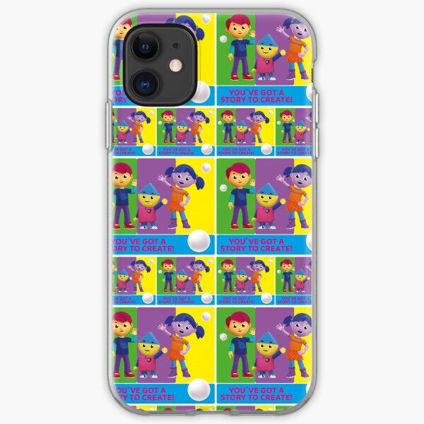 Charlie`s Colorforms City, You`ve got a story to create iPhone Soft Case