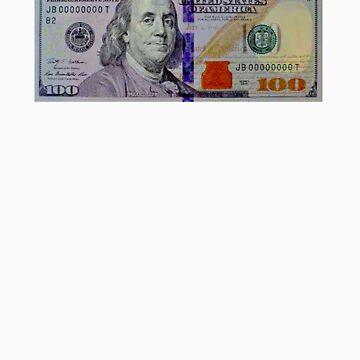 100 dollar bill by sanchezlo
