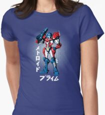 Metroid Prime Women's Fitted T-Shirt