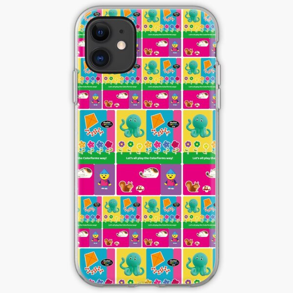 Charlie`s Colorforms City, lets all play the colorforms way iPhone Soft Case