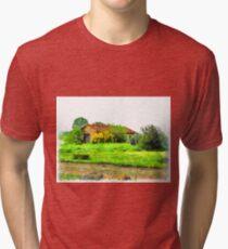 Rural building Tri-blend T-Shirt