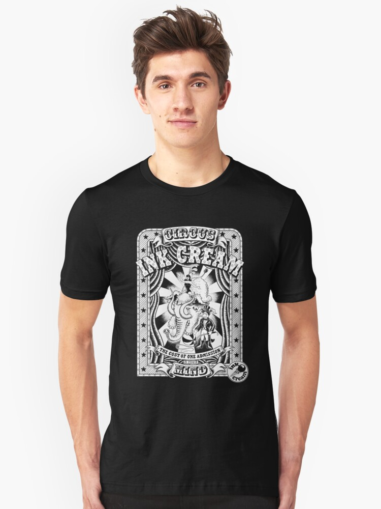 Inkcream Circus Unisex T-Shirt Front