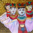 Water Puppets in Hanoi by Lyn Fabian