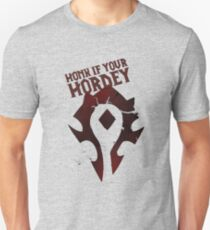 Honk if Your Hordey Guild Tee T-Shirt