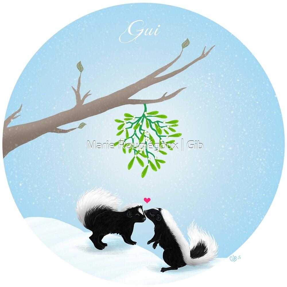 Gui (mistletoe) by Marie Roumégoux | Gib