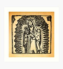 Madonna and Ladle Art Print