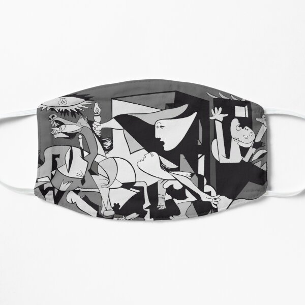 Pablo Picasso Guernica 1937 Artwork Reproduction Mask