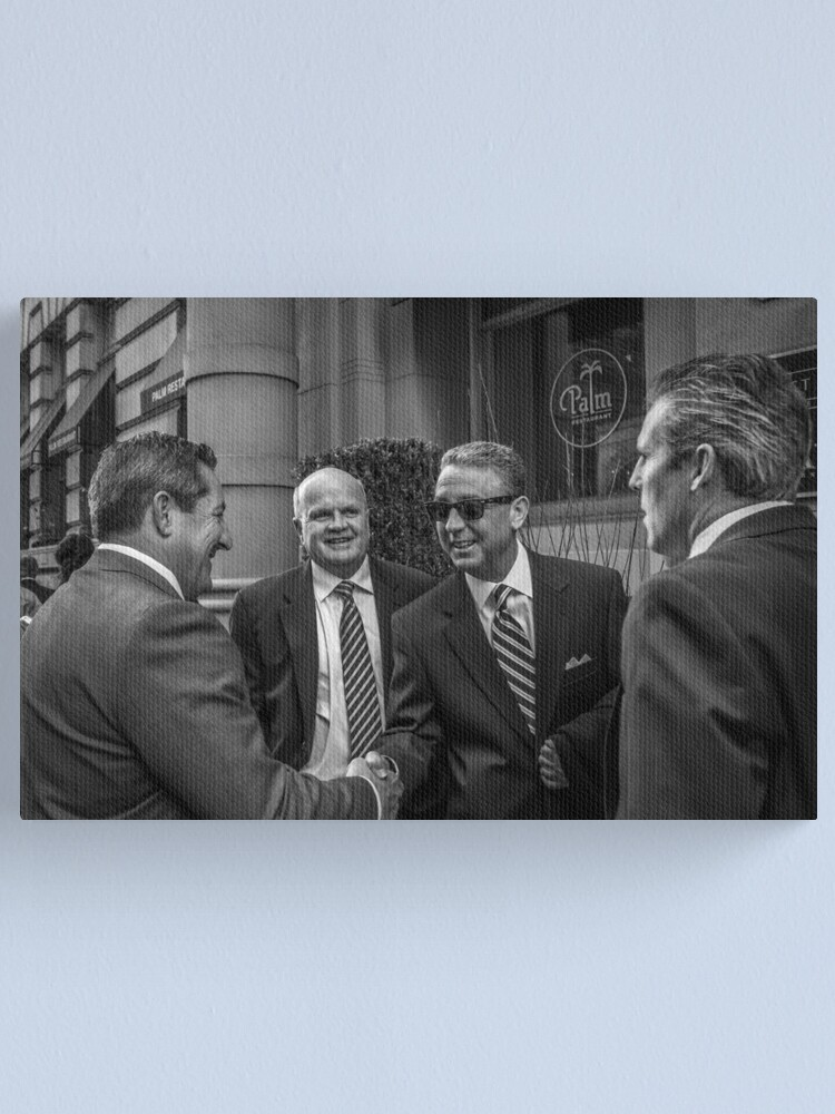 Alternate view of The Art Of The Deal Canvas Print