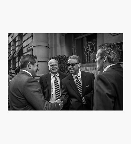 The Art Of The Deal Photographic Print