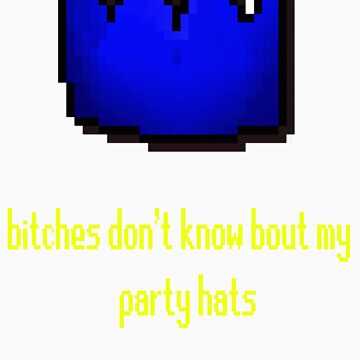 bitches don't know bout my party hats by nileriver