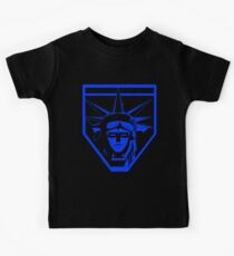 Voltron Liberty (blue) Kids Tee