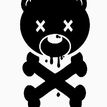 Black bear by arrow-of-trust