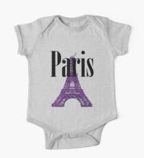 Paris, France - Eiffel Tower Kids Clothes