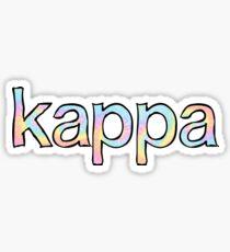 Kappa Tie Dye Sticker