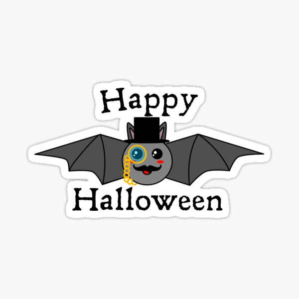 Happy Halloween, Sir. Sticker