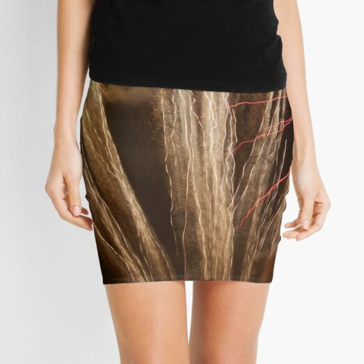 Fireworks Abstract 15 Mini Skirt