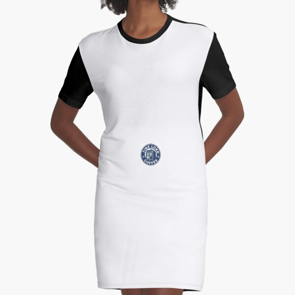 This sticker is perfect for a teen who really like coffee. Graphic T-Shirt Dress