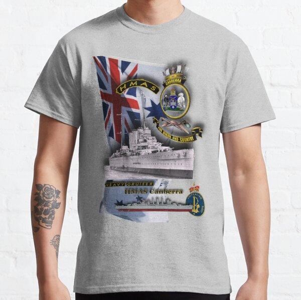 """HMAS Canberra"" Classic T-Shirt"
