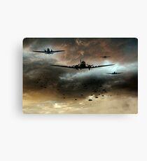 Normandy Invasion Canvas Print