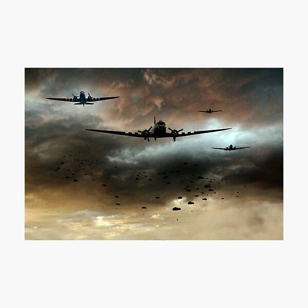 Normandy Invasion Photographic Print