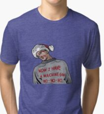 Tony (The Dead Guy In The Elevator In Die Hard) Tri-blend T-Shirt