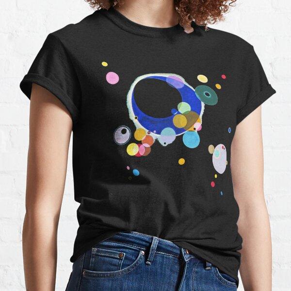 Kandinsky plusieurs cercles, Reproduction d'œuvres d'art de 1926, conception pour affiches, estampes, t-shirts, hommes, femmes, enfants, jeunes T-shirt classique