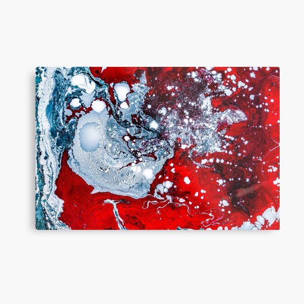 Lava Red Wall Art Redbubble