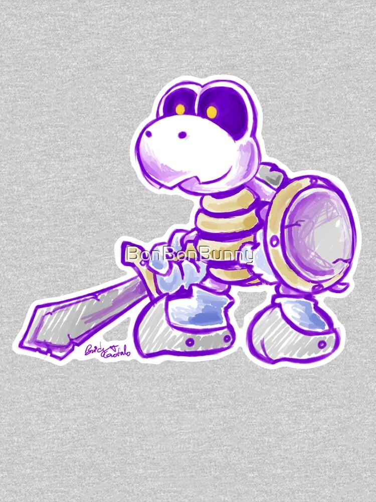 Dry Bones Knight - Super Mario World by BonBonBunny