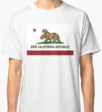 Camiseta clásica Nueva bandera de la República de California Original