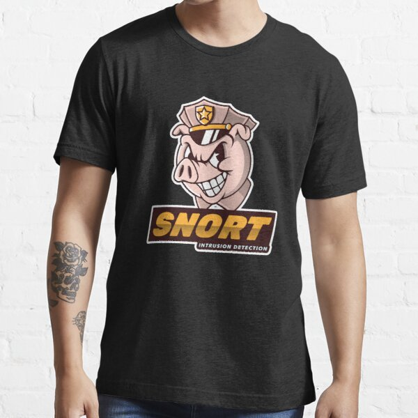 SNORT - Intrusion Detection -  Cyber security Essential T-Shirt