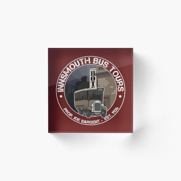 Innsmouth Bus Tours Acrylic Block