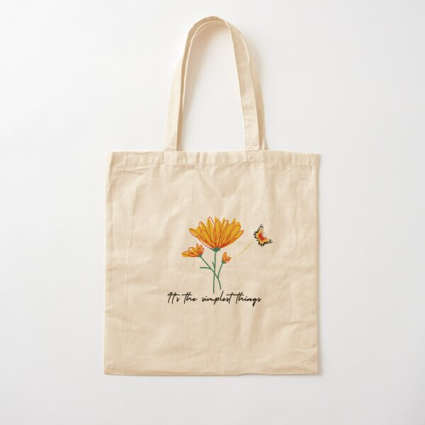 It's the Simple things Cotton Tote Bag